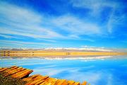 青海湖+茶卡盐湖+德令哈+莫高窟+鸣沙山+嘉峪关城楼+七彩丹霞双飞纯玩8日游
