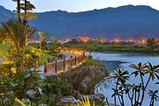 自选连江溪山温泉度假酒店,溪山温泉,种类繁多的露天汤池,独立泡池,让您尽享水上泡汤之乐趣