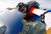 塞班当地游丨高空跳伞丨用上帝的视角看塞班2.4千米3千米3.6千米4.2千米