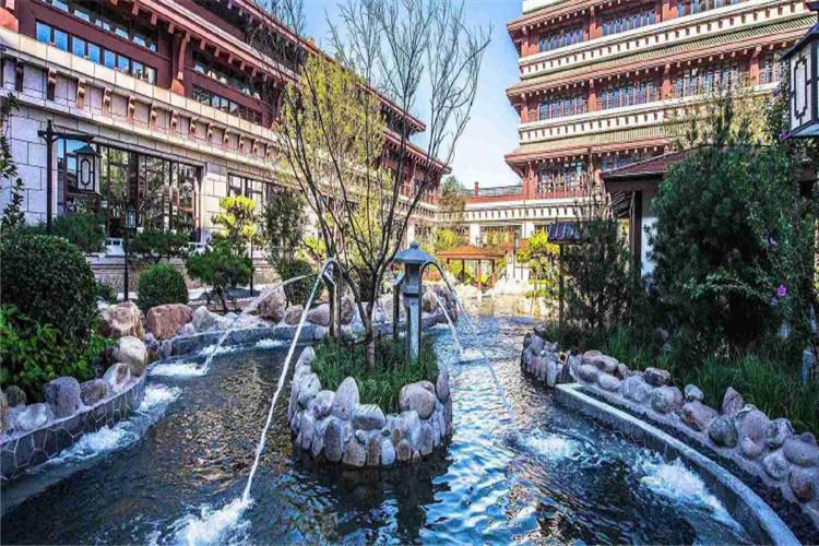 温泉亲子度假住天津东丽湖恒大支付宝提现+自助早餐+温泉中心+温泉餐