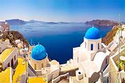 希腊雅典+米克诺斯镇+圣托里尼10天9晚自由行+国际四星悬崖酒店(不含机票)