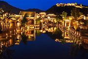 圣诞泡汤🎓住北京古北水镇酒店3选1+古北水镇门票+圣诞美食+双人温泉票