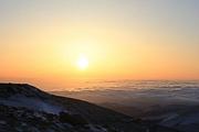 登五台 穿雪山 观云海 看日出—— 震撼心灵 大朝台