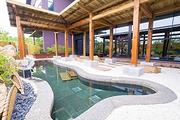 度假、观湖、泡温泉住阳澄湖边苏州紫一川日式温泉度假酒店,体验日式温泉,含双早