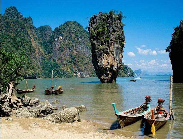 曼谷+普吉岛纯玩7日自由行(一城一岛、珊瑚、皇帝007岛出海+浮潜)北京飞