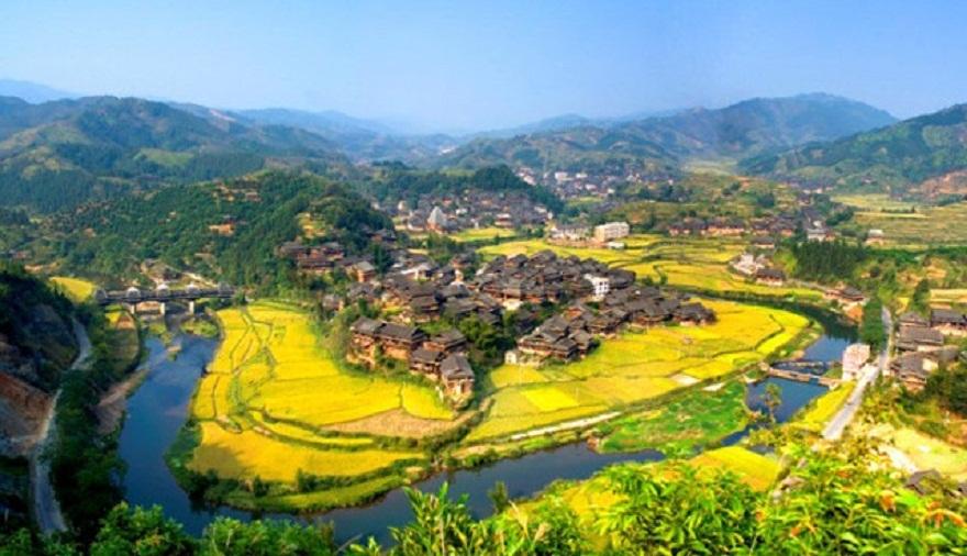 大自然客厅,五星级氧吧|柳州三江侗乡国宾馆1晚+双人程阳风雨桥+坐妹表演