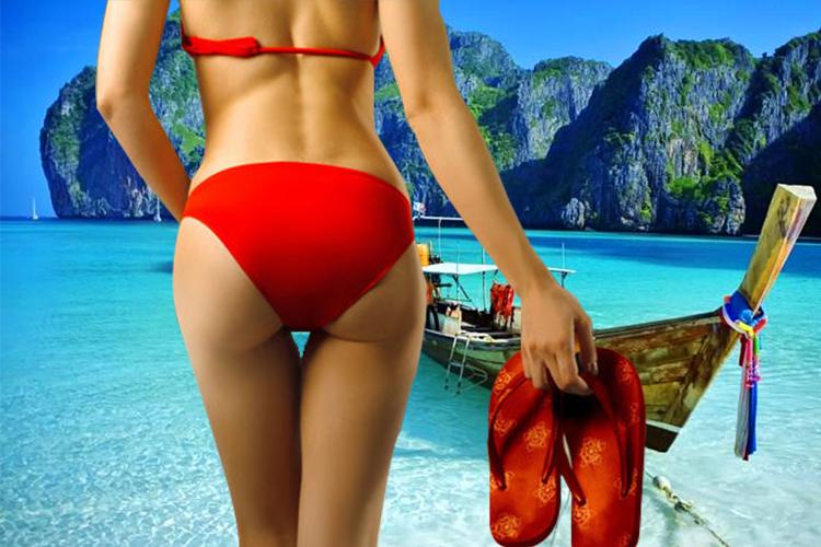 泰国普吉海岛一日游大小皮皮pp岛-蛋岛-蚊子岛-竹岛快艇浮潜游多套餐选可过夜