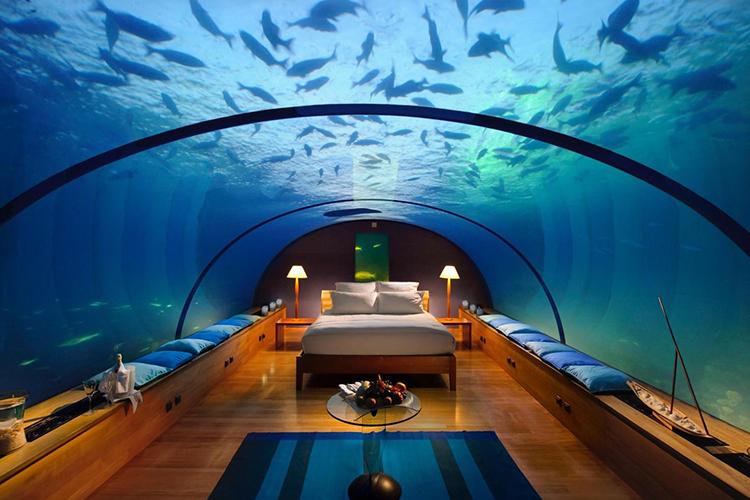 <单酒店预订>马尔代夫港丽岛conrad 2沙2水 水飞 世界第一海底餐厅