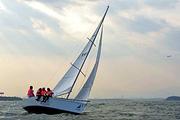 厦门五缘湾帆船门票  帆船出海体验、远眺金门岛、五缘湾帆船港