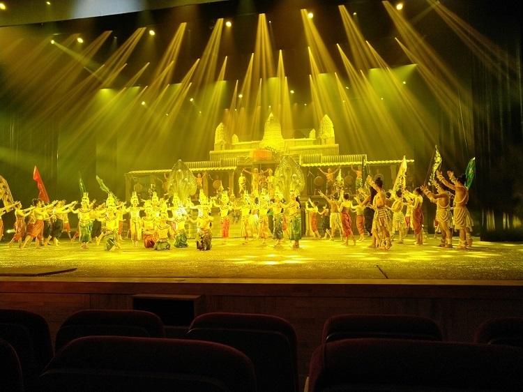 柬埔寨 暹粒 吴哥的微笑表演门票含接送车