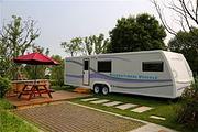 亲子推荐扬州-途居露营地房车亲子体验自驾2日游 宿9米欧式家庭房车+3份早餐