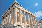 希腊雅典+米克诺斯镇+圣托里尼9天8晚自由行+国际四星+悬崖酒店(不含机票)