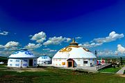 最美草原 锡林浩特出发—乌珠穆沁草原、蒙古王城、游牧部落、纯粹草原二日游