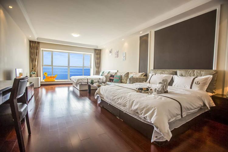 东戴河佳兆业国海景公寓,面积55平米起,落地海景窗,可加选乐岛海洋王国门票