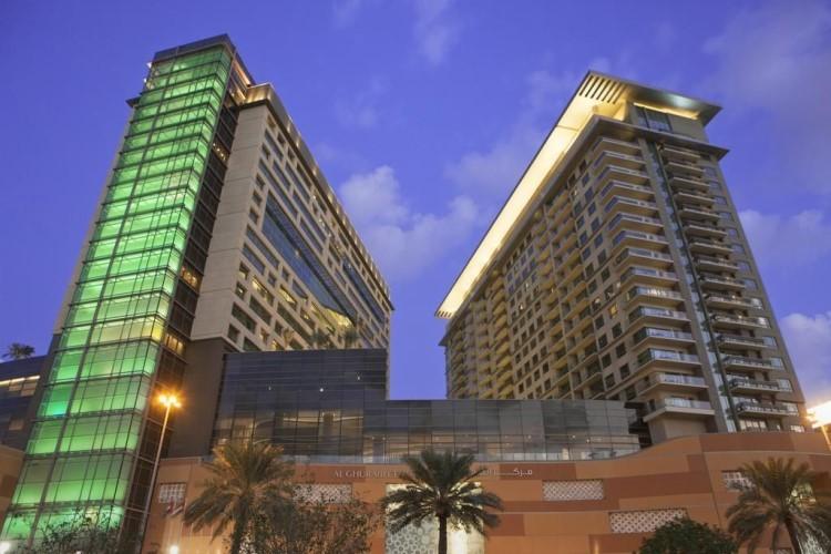 迪拜古赖尔瑞士酒店+Dubaimall水族馆