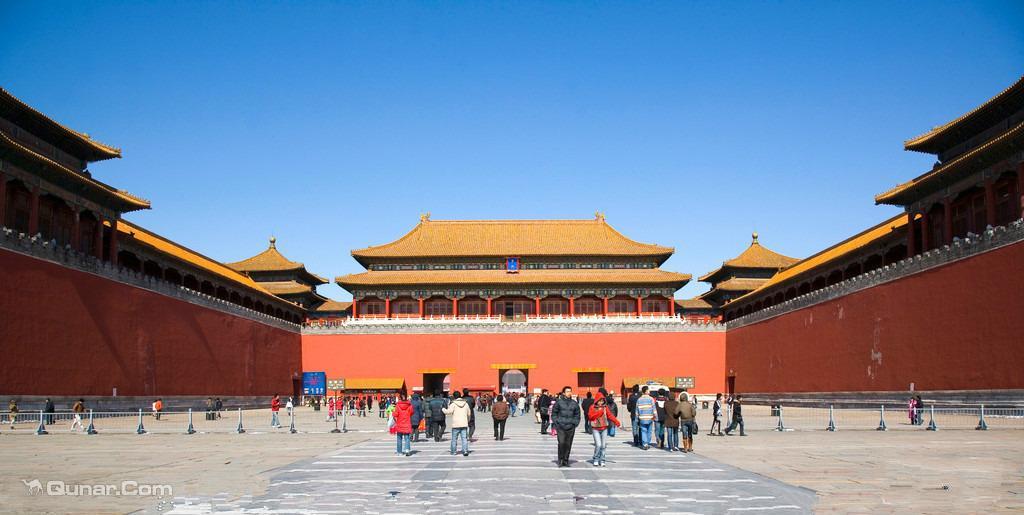 故宫+2天1晚北京工业大学周边经济酒店任选