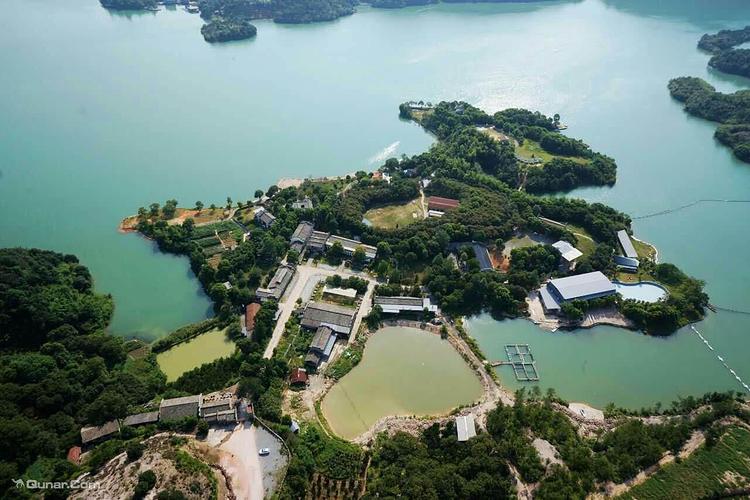 衢州九龙湖太阳岛景区旅游