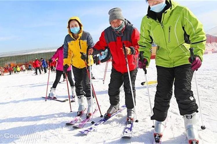 莲青山滑雪场旅游