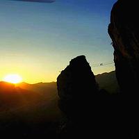 雁荡山飞拉达攀岩景区