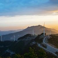 麻城狮子峰景区