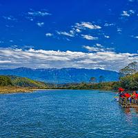 龙川江漂流