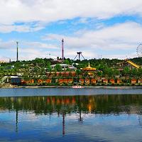 五龙山响水河游乐园