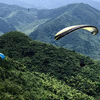 九华山滑翔伞体验基地