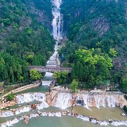 天台山大瀑布
