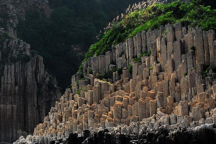 花岙岛石林旅游