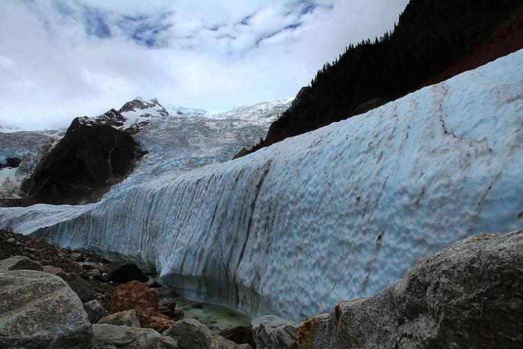 米堆冰川旅游