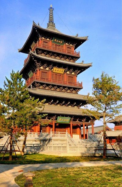华严寺砖塔旅游