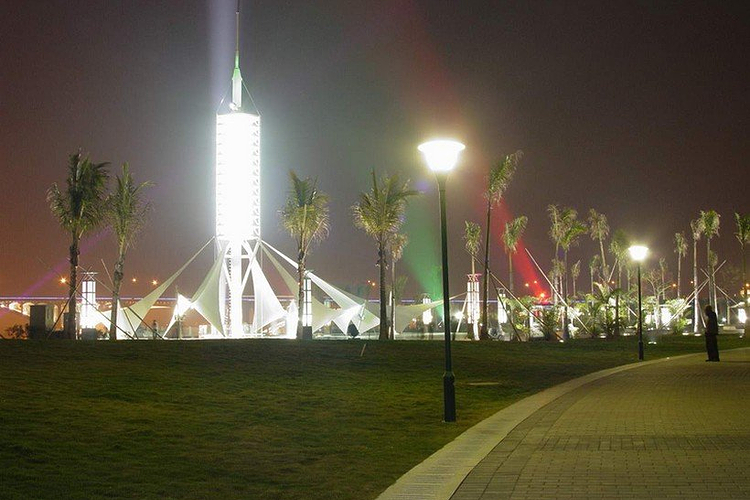 下埔滨江公园旅游