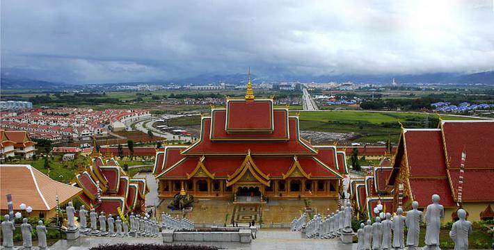西双版纳勐泐文化旅游区