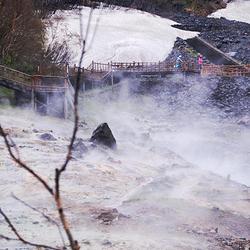 长白山仙人桥温泉