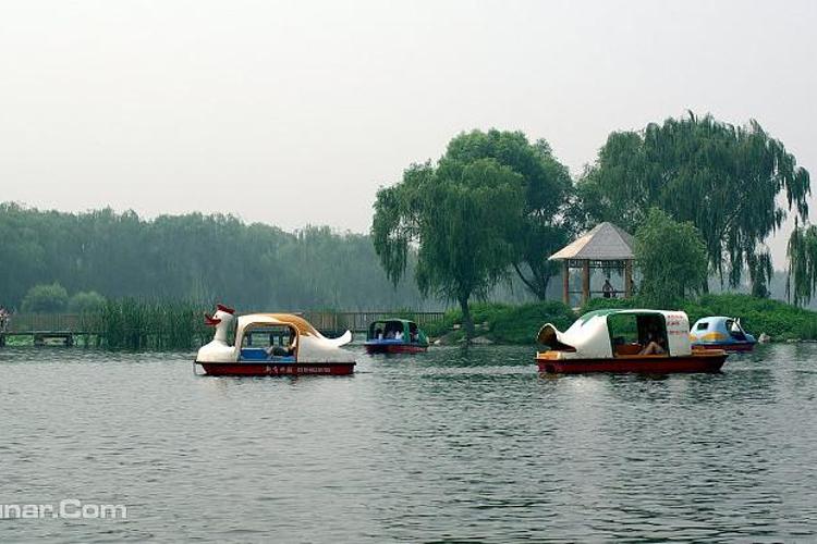 金隅南湖公园旅游