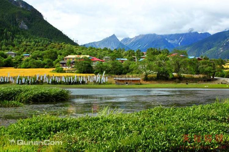 嘎朗湖景区旅游