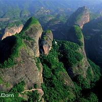 桂林丹霞八角寨景区
