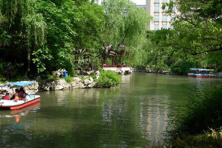 嘉兴人民公园旅游