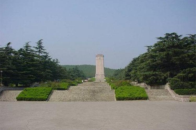 淮海战役烈士纪念塔园林旅游