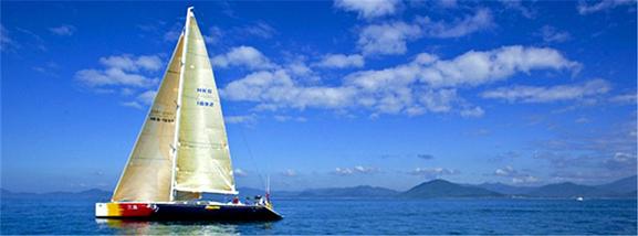 小清新帆船出海