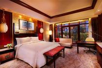 1.2米以下免费!天津生态城世茂希尔顿酒店+自助早餐+极地海洋世界/方特
