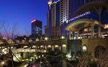 宁波洲际酒店高级房1晚+双人自助晚餐+双早