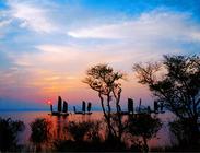 早订优惠三山岛农家豪华两日自助游,住湖山饭庄,享苍山碧水,幽美风景