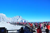 泸沽湖+玉龙雪山纯玩跟团3日游 划猪槽船登里务比岛 摩梭家访 大索道.蓝月谷