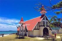 探索毛里求斯之旅-北部一日游+红顶教堂+大湾+皇家植物园+炮台山