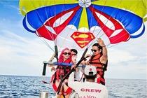 菲律宾长滩岛经典水上项目(飞鱼/拖曳伞/水上摩托/日落风帆/香蕉船)