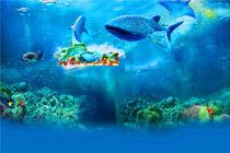 珠海长隆海洋王国2张+自助晚餐2份 宿五星横琴湾酒店1晚+赠水世界