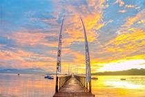 印尼巴厘岛歌特岛4天3夜自由行 潜水 冲浪点 无购物 可全国出发 代订机票