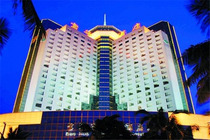 星期八旅游 海口宝华海景酒店市景双床房2天1晚 位于金融贸易区及海口湾区域