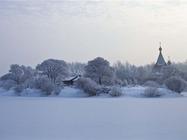哈尔滨冰雪季入住景区内伏尔加庄园客房,游玩哈尔滨伏尔加庄园